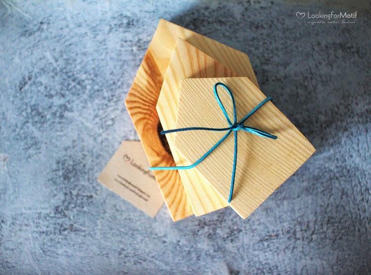 3 sosnowe domki, wood houses, gift