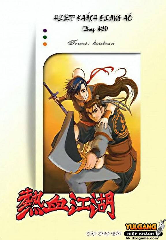 Hiệp Khách Giang Hồ - Chapter 430 - Pic 1