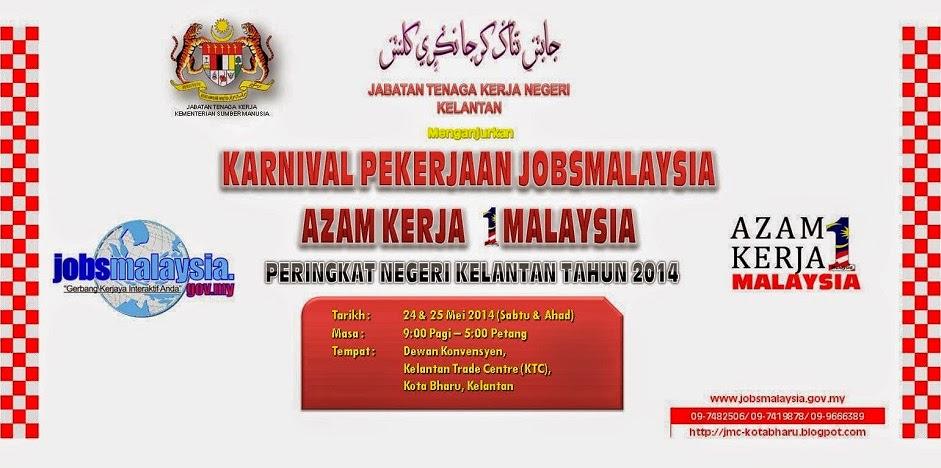 Imej Karnival Pekerjaan JobsMalaysia Negeri Kelantan