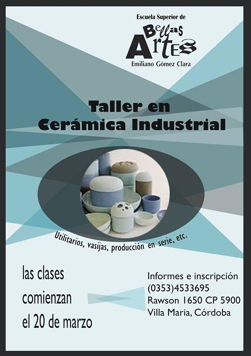 TALLER DE CERÁMICA INDUSTRIAL