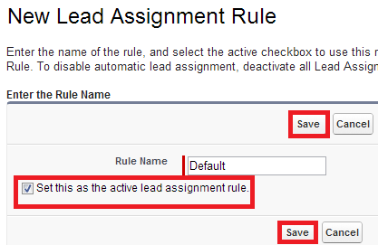 assignment shaping salesforce