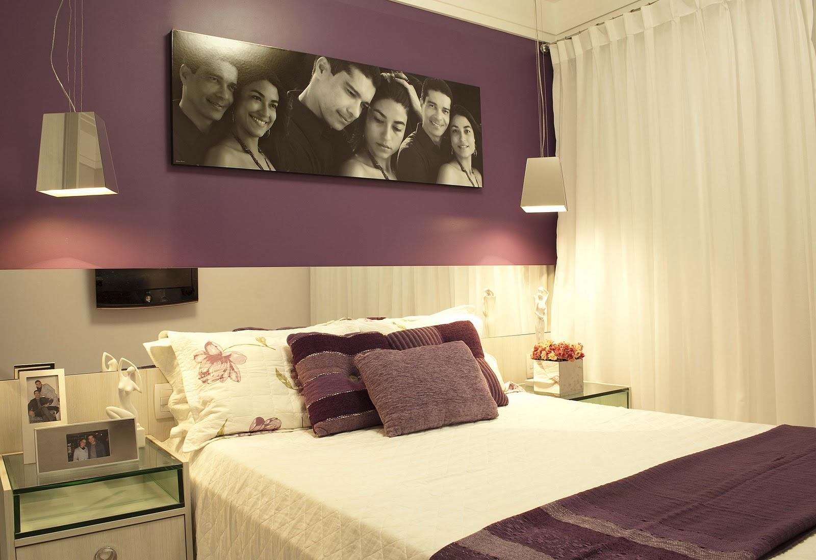Blog da Roca Imóveis A decoração do quarto do casal ~ Quarto Pequeno Tamanho