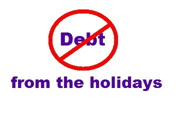 Avoid holiday debt