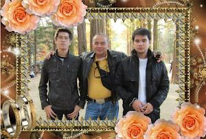 สามพ่อลูกบนเกาะนามิ เกาหลีใต้