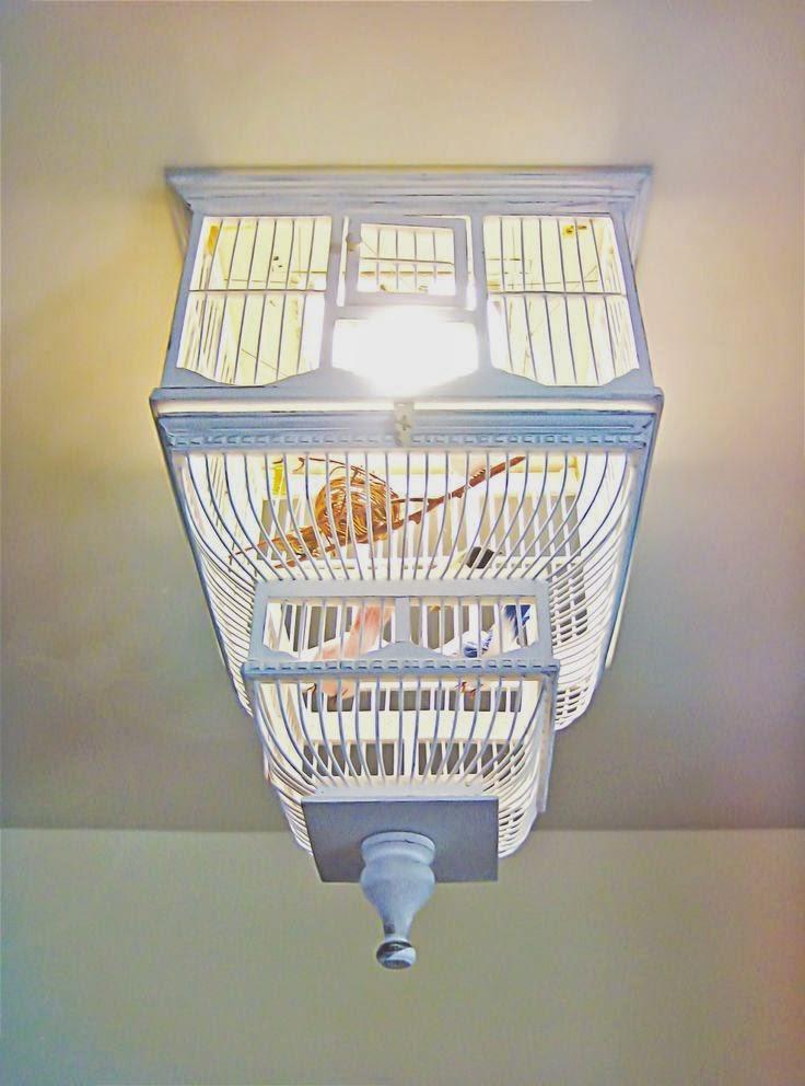 مصباح قفص العصافير