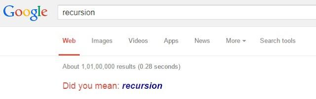 Google Trick Recursion