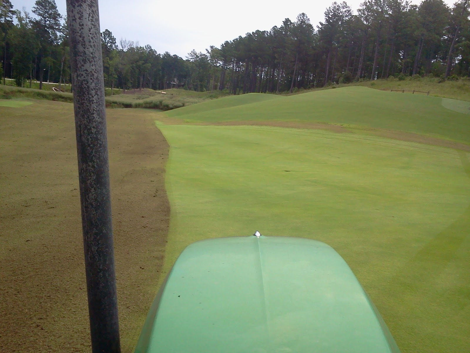 The Creek Club Golf Course Maintenance: Thatch removal on Zorro ...