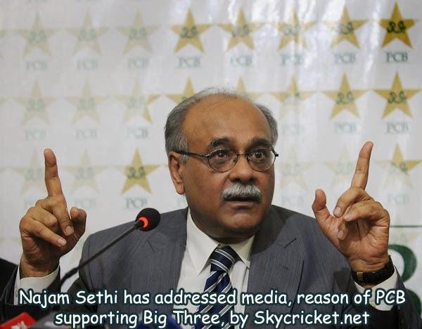 Sethi spoke to media why he supported Big Three