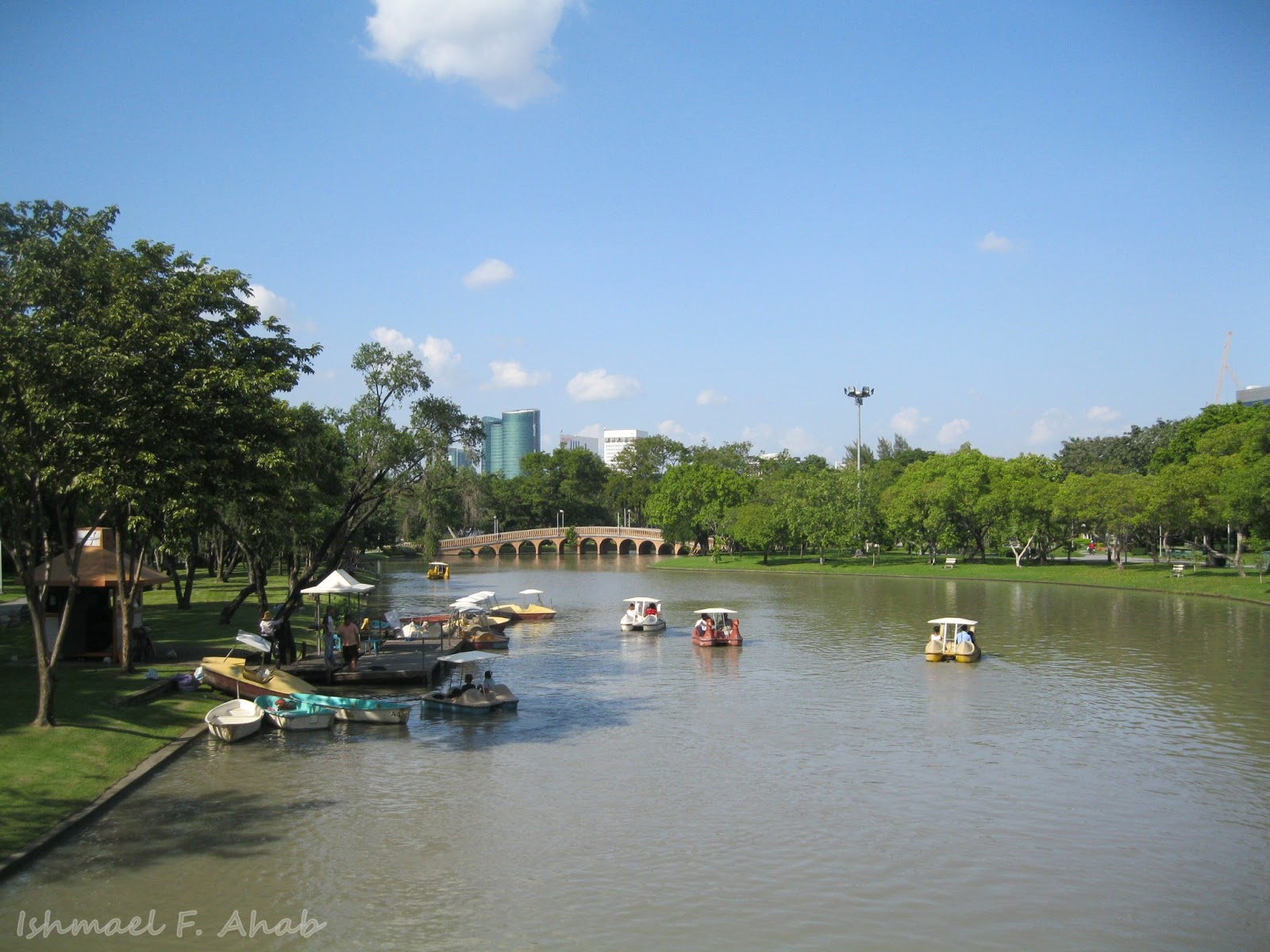 A Stroll in Chatuchak Park Before the Eastern Sunset