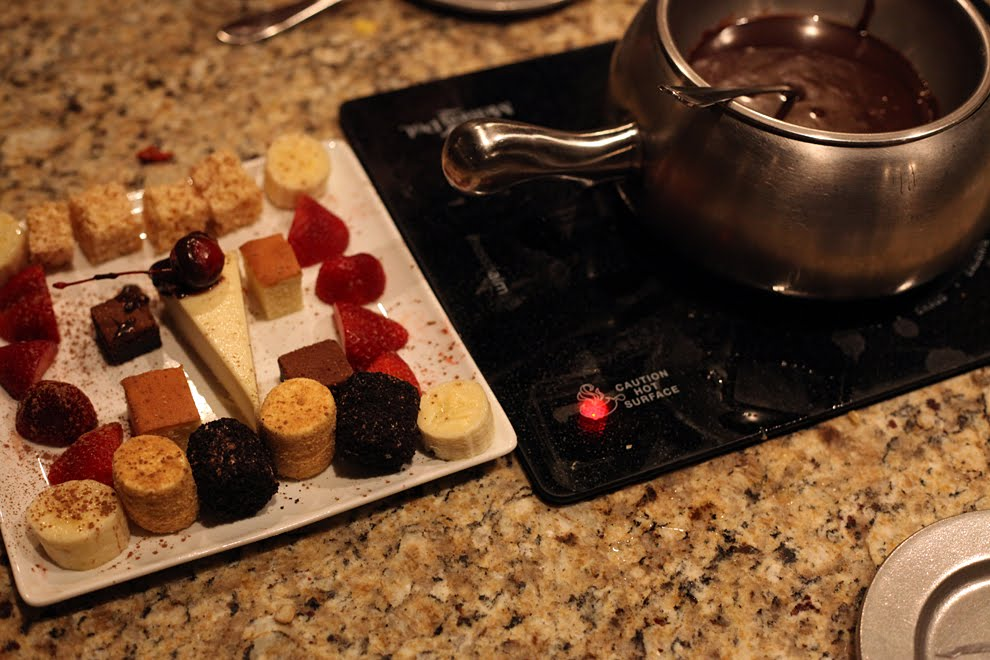 another way to eat the melting pot a fondue restaurant
