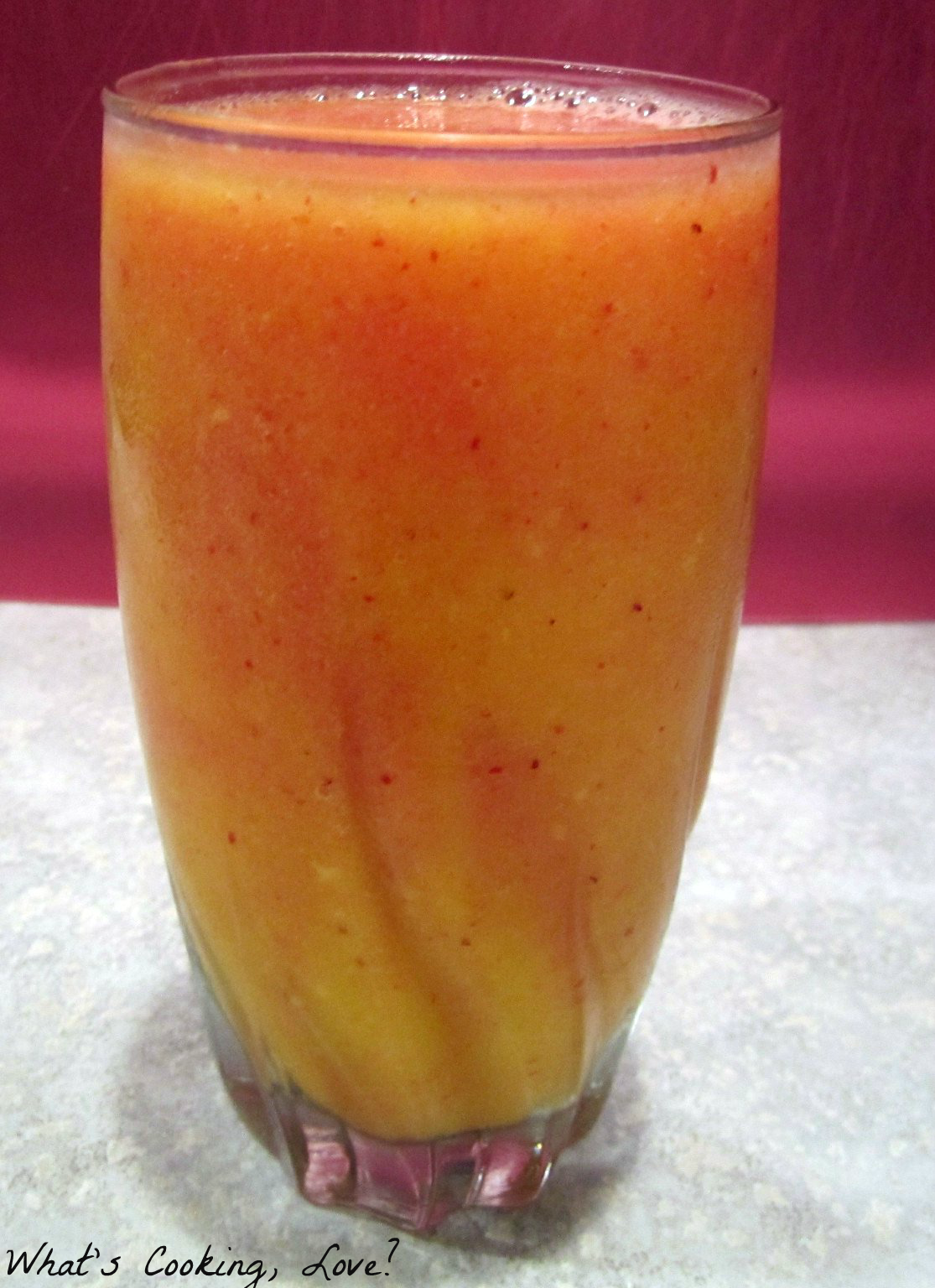 Layered Strawberry Mango Smoothies - Whats Cooking Love?