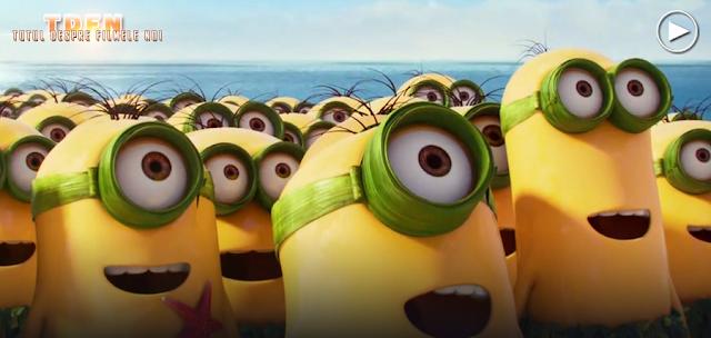 Un nou trailer super amuzant despre simpaticele personaje Minions