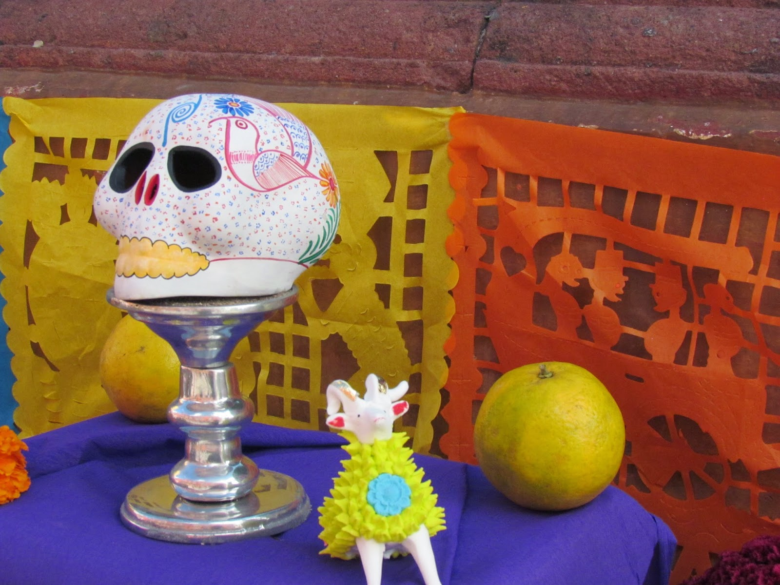 Flavors Of The Sun Day Of The Dead 2014 Symbolism And Colors