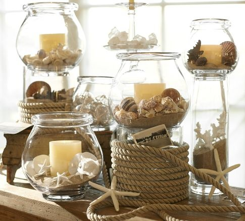 Diy seashell bathroom decor - Display In Small Or Large Cupboards Or Use A Whole Room As Your Canvas