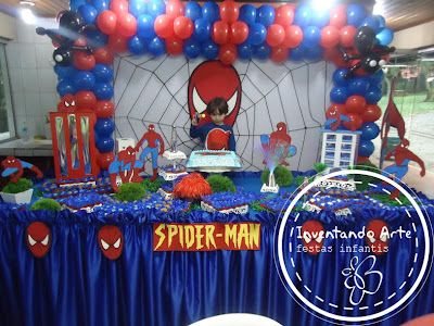 festa infantil homem aranha spider man ponta grossa