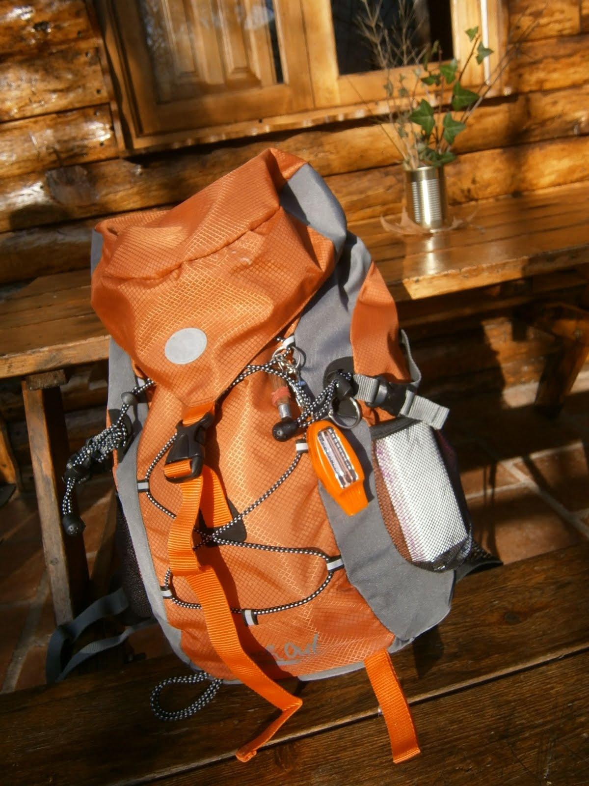 La mochila preparada