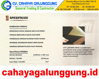 Genteng Cti Ct5 Shingle Bitumen