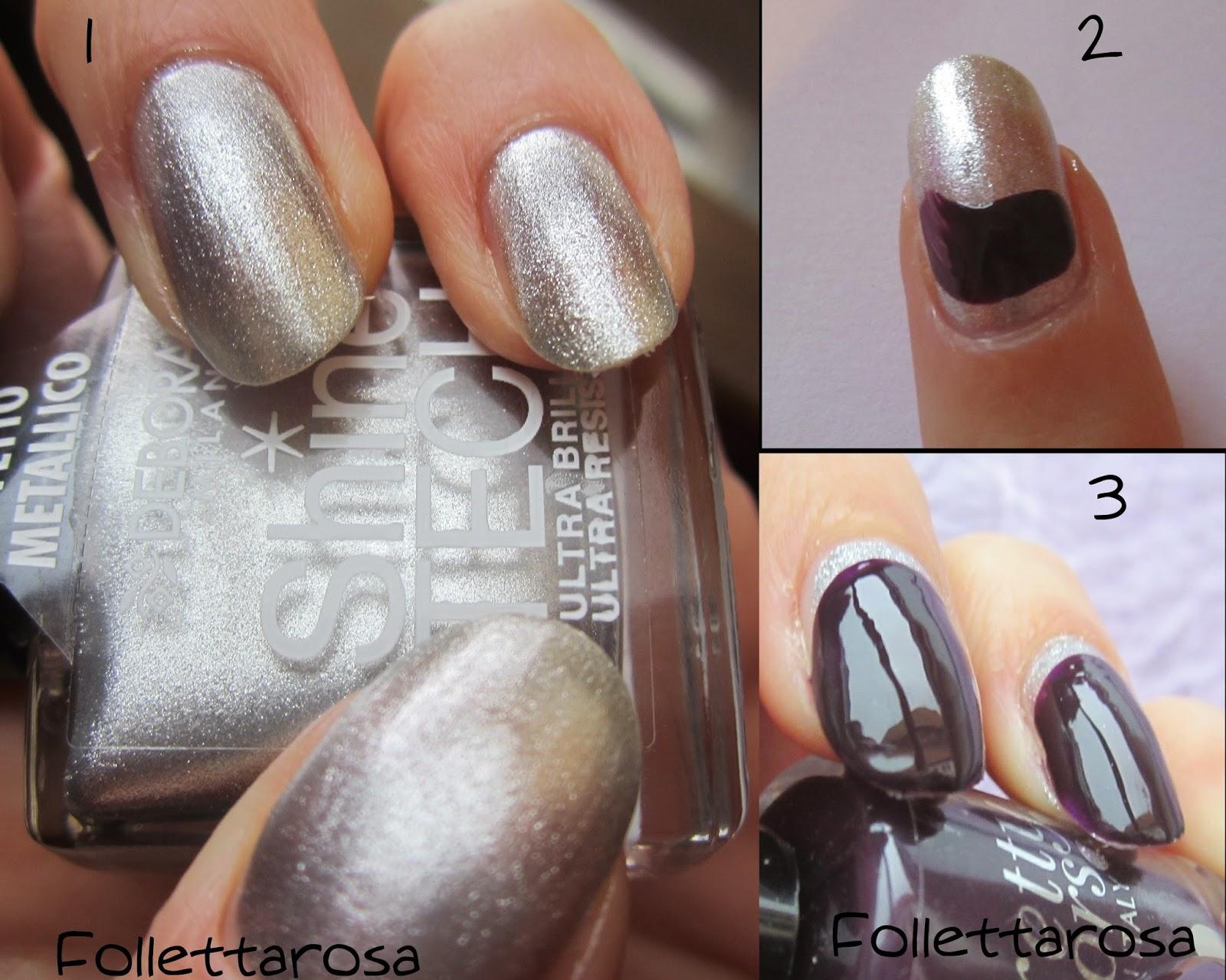 tutorial nail art autunno 2014