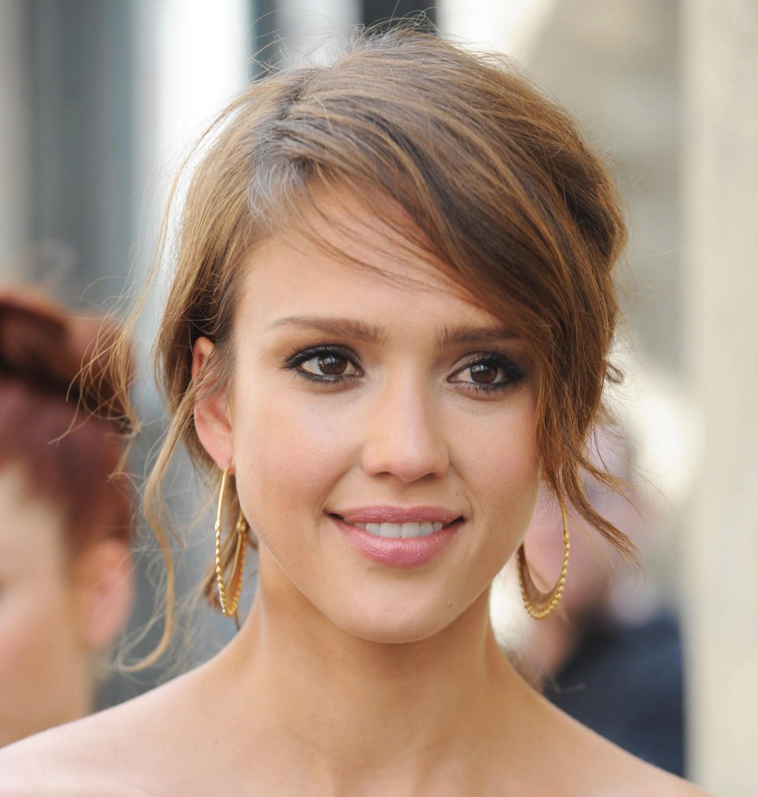Jessica alba short hairstyles 2013