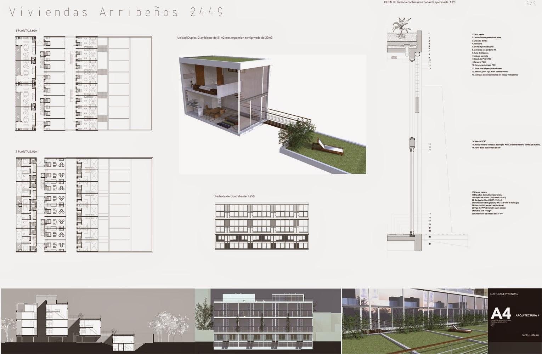 Apuntes revista digital de arquitectura proyecto for Viviendas sobre terrazas