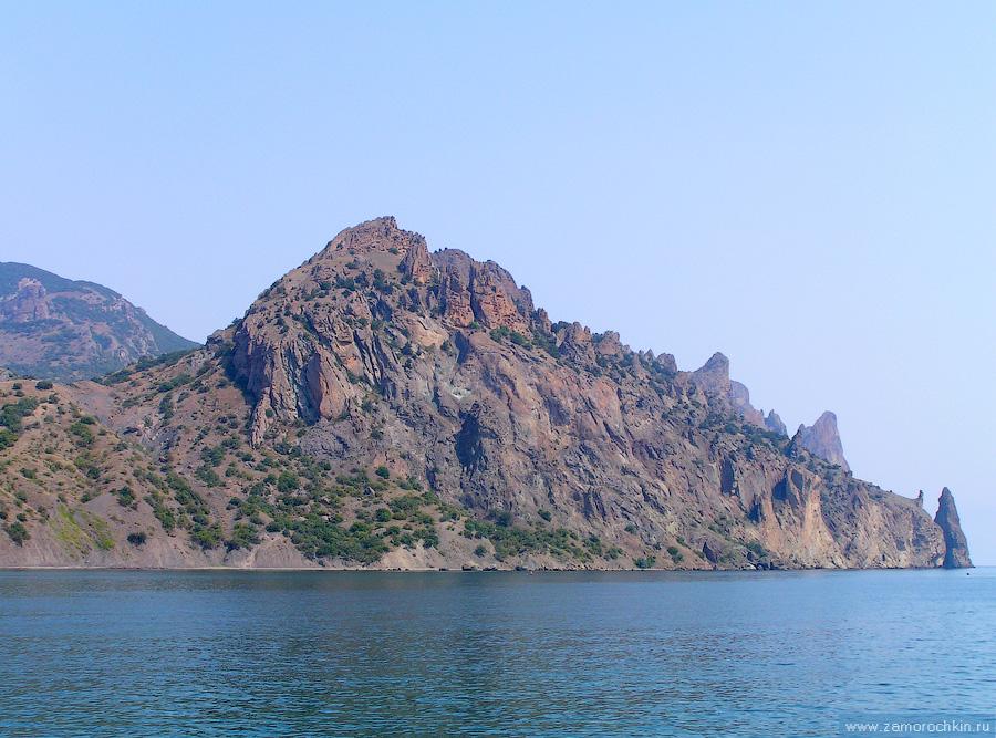 Морская прогулка вдоль Кара-Дага