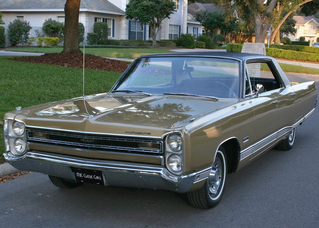 All American Classic Cars 1968 Plymouth Vip 4 Door Hardtop