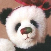 Ha Lee, the Christmas panda (adopted)