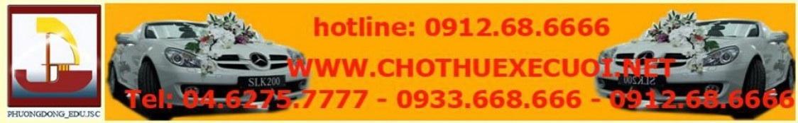 cho thuê xe du lịch - 0912686666