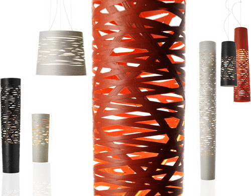 Tress Suspension Lamps Design by Marc Sadler