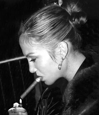Jennifer Lopez loves the cigars these days.