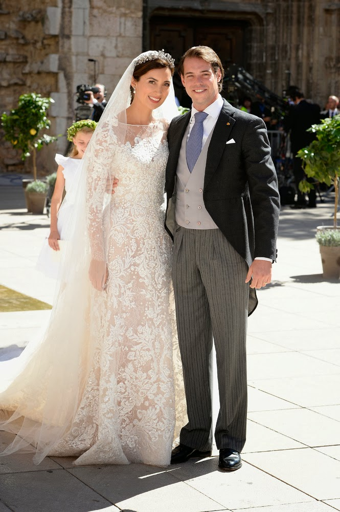 Dahlia Weddings Royal Wedding Prince Felix Of Luxembourg Weds Claire Lademacher