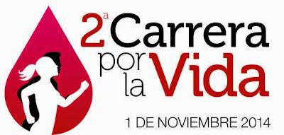 8k y 3k Carrera por la vida en beneficio del Hemocentro (Maldonado, 01/nov/2014)