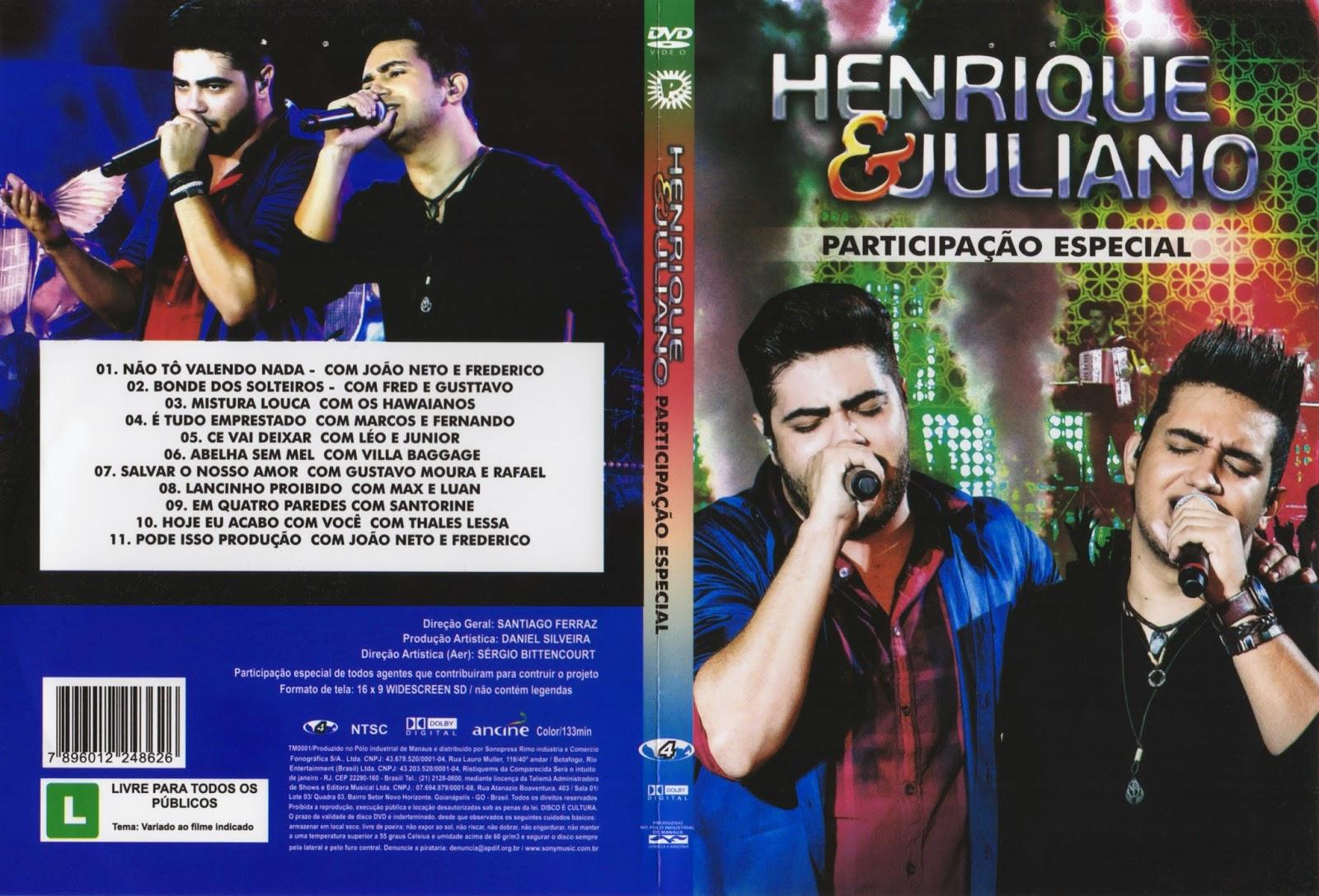 DVD Henrique & Juliano – Participação Especial (2015)