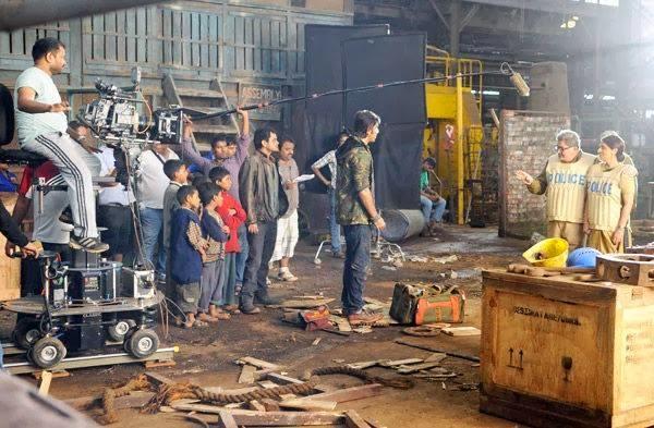 Set of movie Basharam