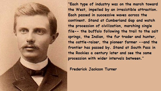 turner thesis explanation Can someone explain frederick jackson turner's can someone explain frederick jackson turner's frontier thesis he had an explanation turner argued in his.