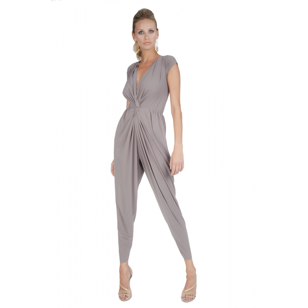 Popular Womens Ladies All In One Square Neck Wide Leg Palazzo Playsuit Jumpsuit UK 8-22 | EBay