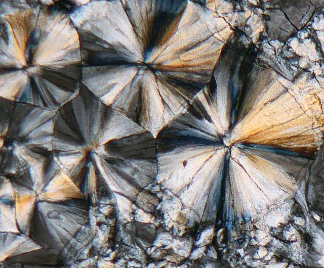 Indium sulfate microscope