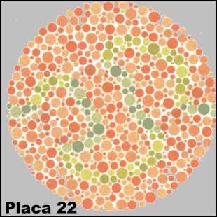 Teste de Ishihara - Placa número 22