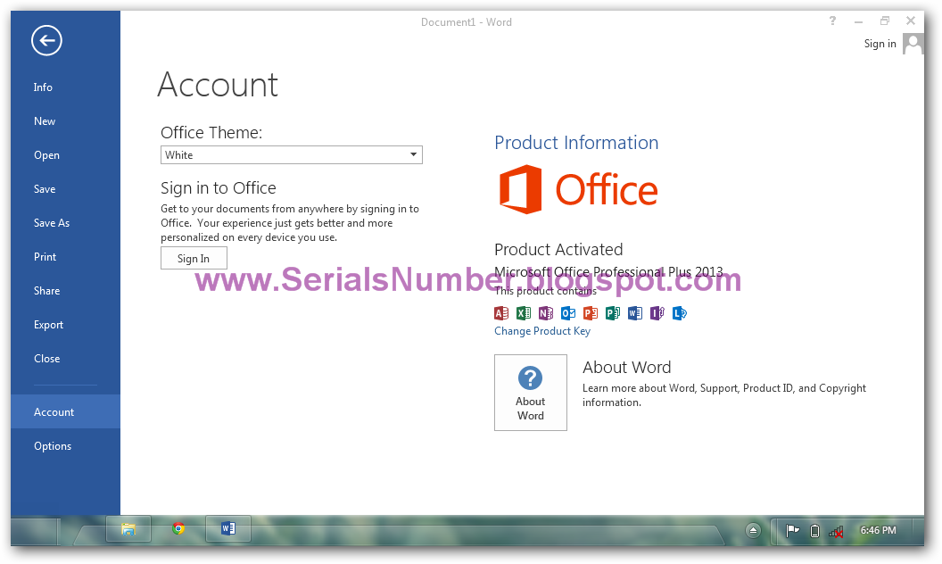 activator microsoft office 2013