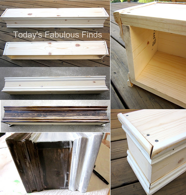 today 39 s fabulous finds diy mantel shelf and how to hang it. Black Bedroom Furniture Sets. Home Design Ideas