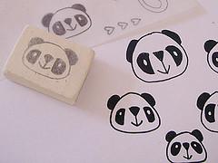 Carimbo de panda