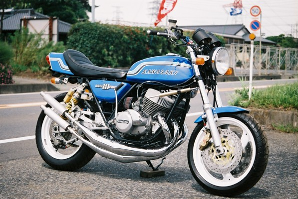 Planet Japan Blog: Kawasaki Mach III 750 Special #1