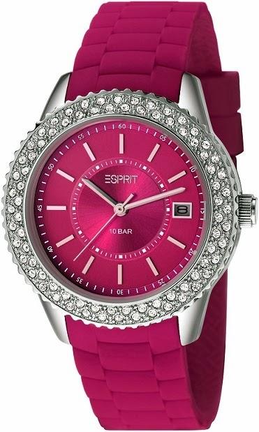Esprit Timewear Marin Glints Berry: Price INR 7,295