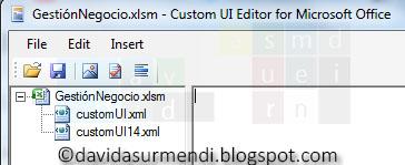 Dos archivos XML insertados para cada una de las versiones