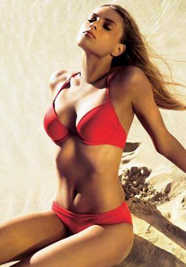 bikini rojo El Corte Inglés verano 2013