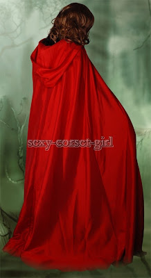 Red Riding Hood Cape@northmanspartyvamps.com