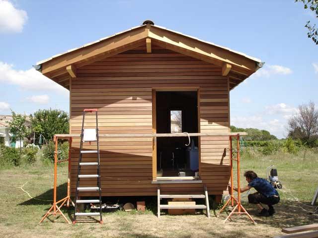 Atelier d 39 architecture ludovic philippon cabane bois brouzet les quissac - Cabane jardin atelier besancon ...