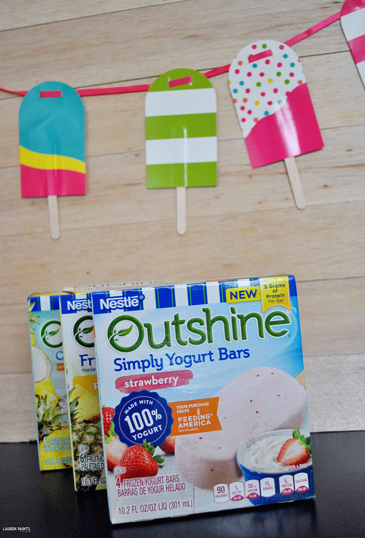 Lately I've been spending the day kayaking and then snacking on delicious fruit and veggie infused Outshine Bars! Learn more about these delicious snacks...