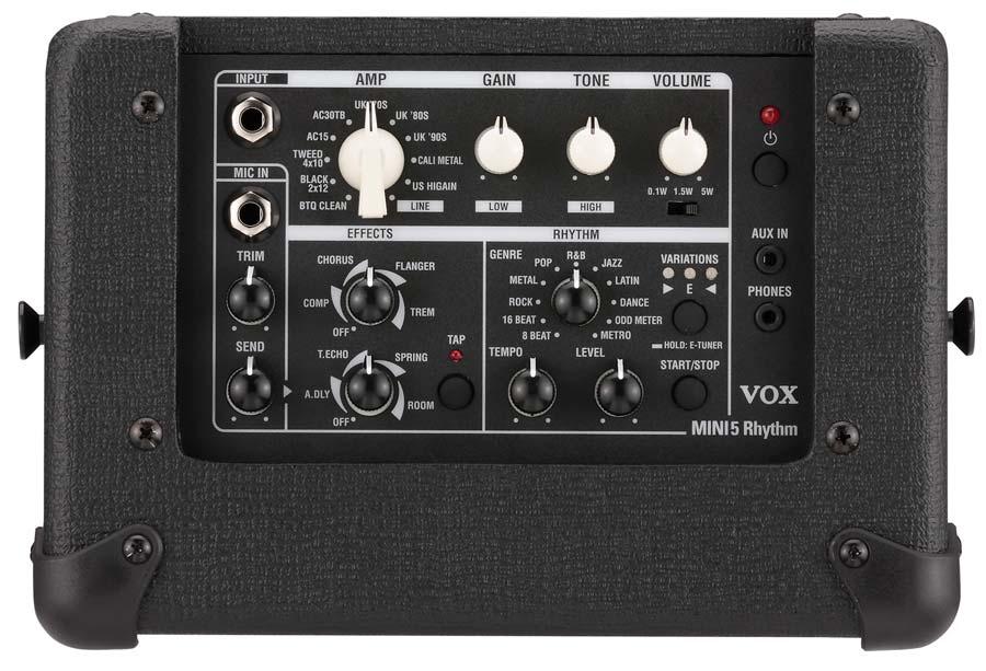 Vox Announces Mini5 Rhythm Portable Modeling Amplifier