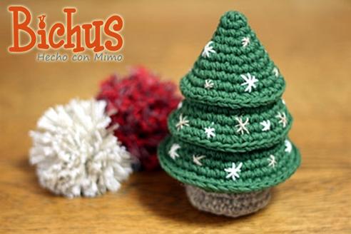 bichus amigurumis arbolito de navidad amigurumi - Arbolitos De Navidad
